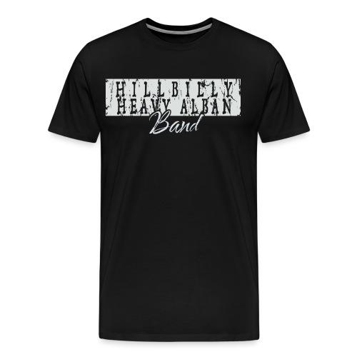 hhab text inv png - Premium T-skjorte for menn