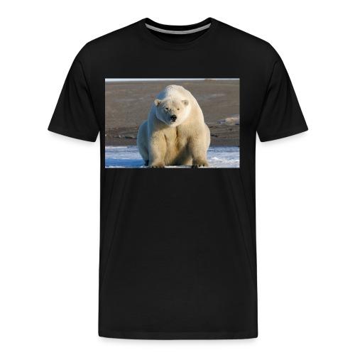 Alaska Polar Bear Northern Shore jpg - Men's Premium T-Shirt