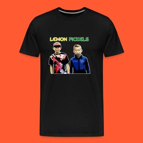 lemon pickeles png - Men's Premium T-Shirt