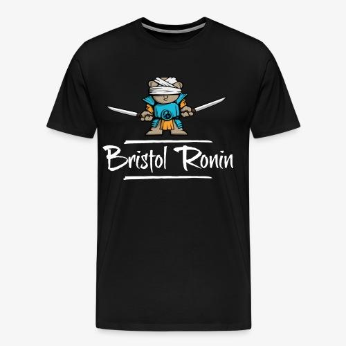 Swordbear_Dragon_White - Men's Premium T-Shirt