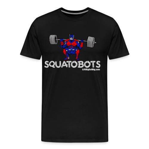squatobots2url - Men's Premium T-Shirt