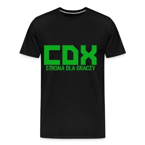 CDX-LOGO - Koszulka męska Premium