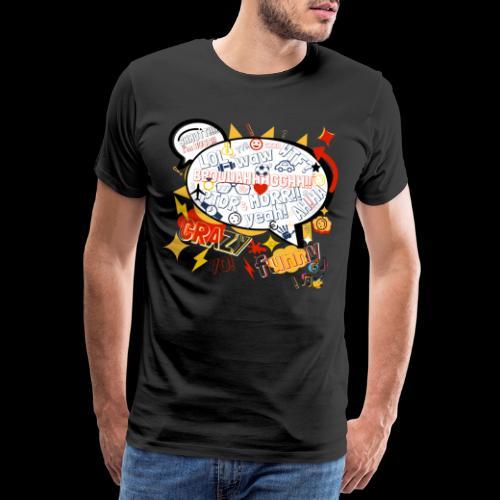 crazystreettalk - T-shirt Premium Homme