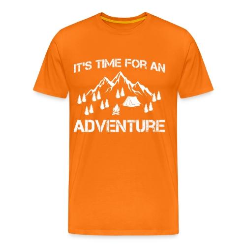 It's time for an adventure - Men's Premium T-Shirt
