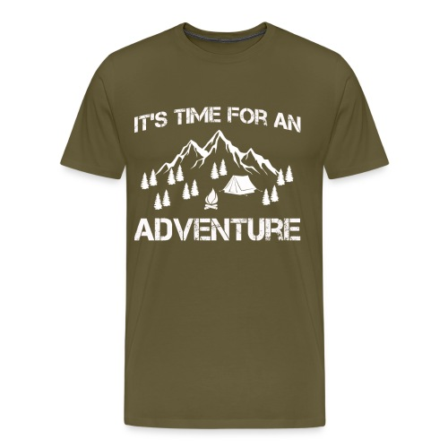 It's time for an adventure - Men's Premium T-Shirt