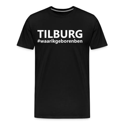 #waarikgeborenben - Mannen Premium T-shirt