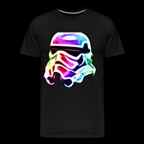 Rainbow Stormtrooper - Men's Premium T-Shirt