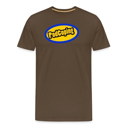 PodCoping Logo - Men's Premium T-Shirt