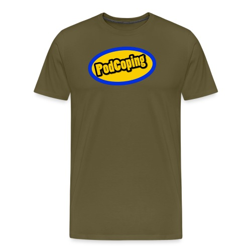 PodCoping Logo - Men's Premium T-Shirt