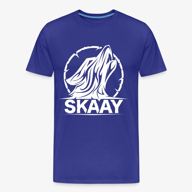 Skaay Logo Weiß GeniyArts png