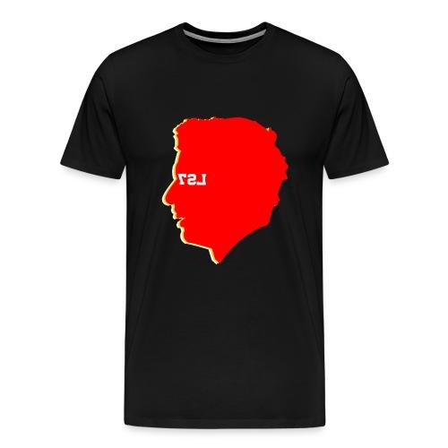 SUAREZ HEAD4 png - Men's Premium T-Shirt