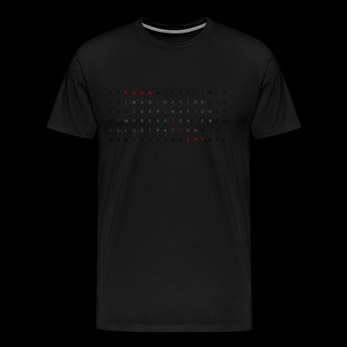 Word search It... - Men's Premium T-Shirt