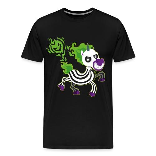 Halloween Unicorn - Halloween Geschenkidee - Männer Premium T-Shirt