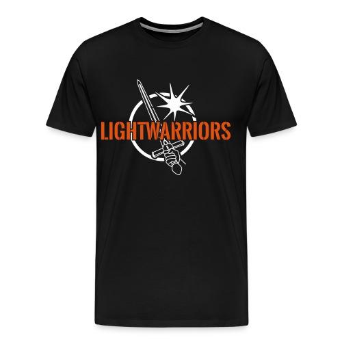 Lightwarriors Logo - Männer Premium T-Shirt