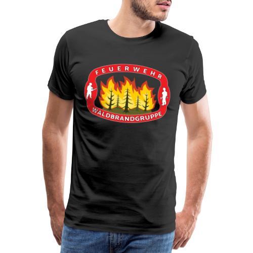 Waldbrandgruppe Feuewehr - Männer Premium T-Shirt