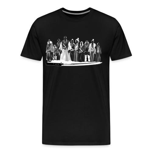 Gang samouraïs - T-shirt Premium Homme