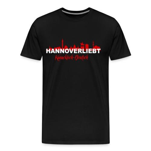 Hannoverliebt - Männer Premium T-Shirt