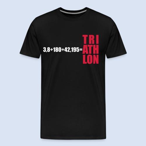 Triathlon Swim Bike Run - Männer Premium T-Shirt