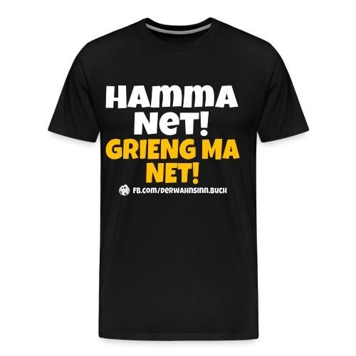 Shirt Hamma net png - Männer Premium T-Shirt