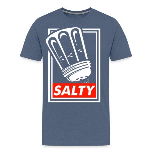 Salty white - Men's Premium T-Shirt