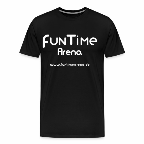 FunTime_Arena_Logo - Männer Premium T-Shirt