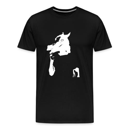 Funny horse - T-shirt Premium Homme