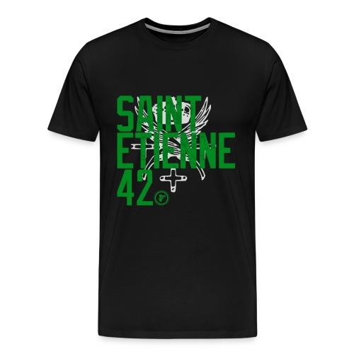 St Etienne42b png - T-shirt Premium Homme