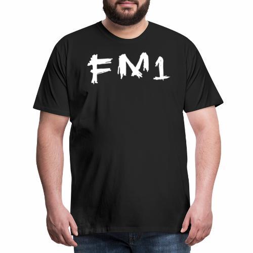FM1 Goth png - Herre premium T-shirt