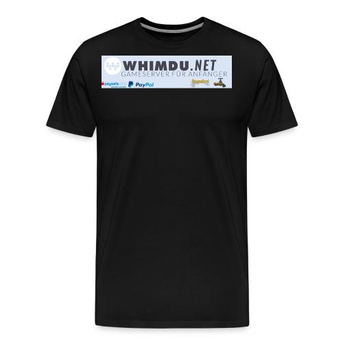 Whimdo Banner jpg - Männer Premium T-Shirt
