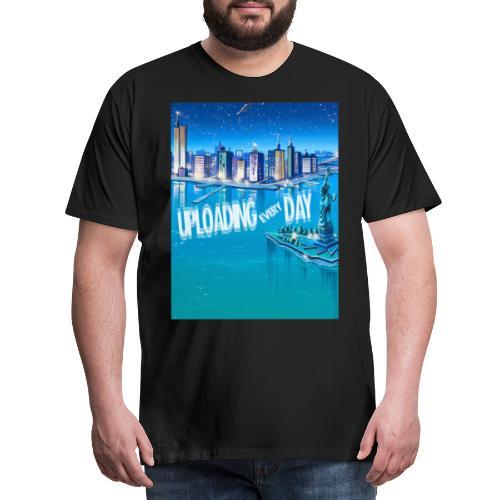 UPLOADING EVERYDAY - Men's Premium T-Shirt