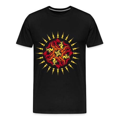 Belenos' Sonnenscheibe - Männer Premium T-Shirt