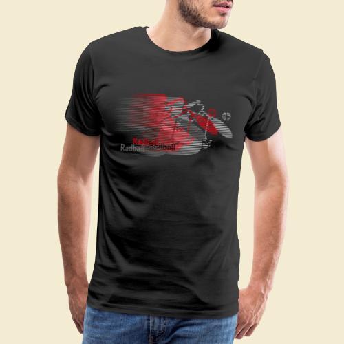 Radball   Earthquake Red - Männer Premium T-Shirt