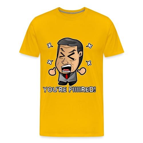 Chibi McMahon - Fired - Men's Premium T-Shirt