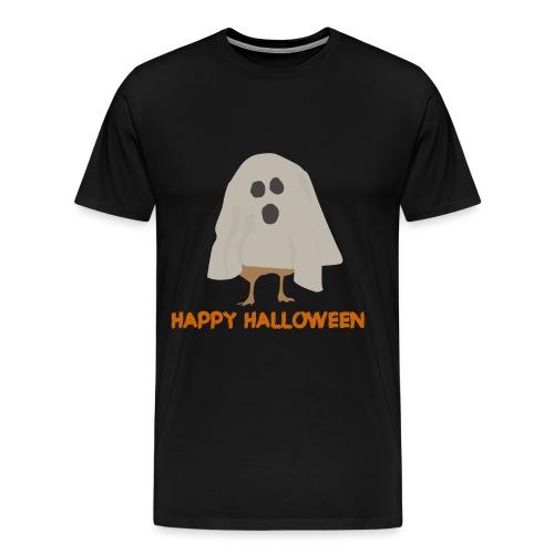 spooky chicken design alt png - Men's Premium T-Shirt