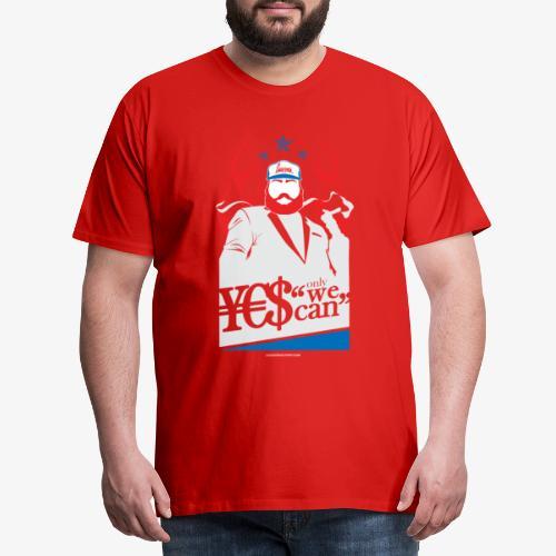 YES WE CAN - Maglietta Premium da uomo
