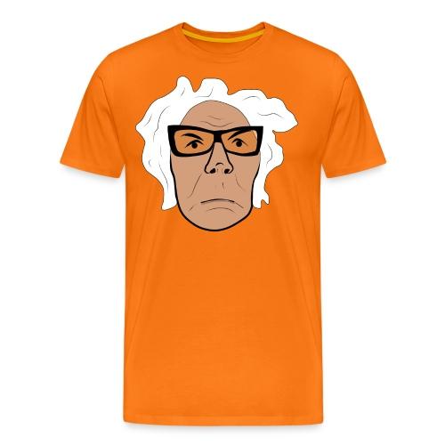 GA ansikte sur png - Premium-T-shirt herr