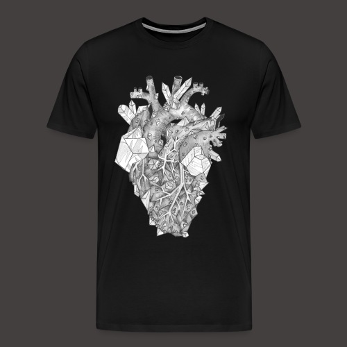 Le Coeur de Cristal - T-shirt Premium Homme