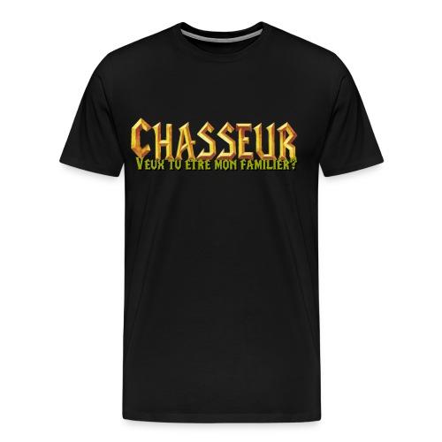 chasseur familier - T-shirt Premium Homme