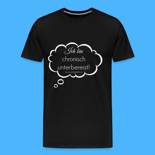 Denkblase Weiß Transparent - Männer Premium T-Shirt