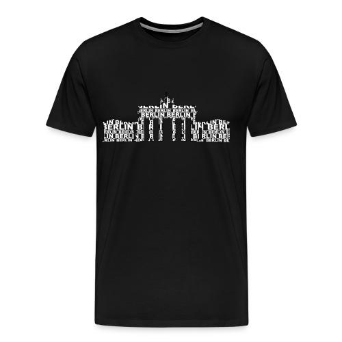 Brandenburgertor png - Männer Premium T-Shirt