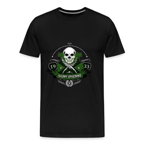 Saint Andrew s Skull D png - T-shirt Premium Homme