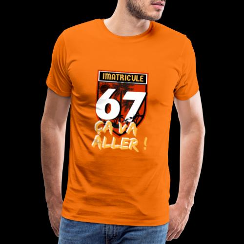 strasbourg 67 Ça va aller - T-shirt Premium Homme