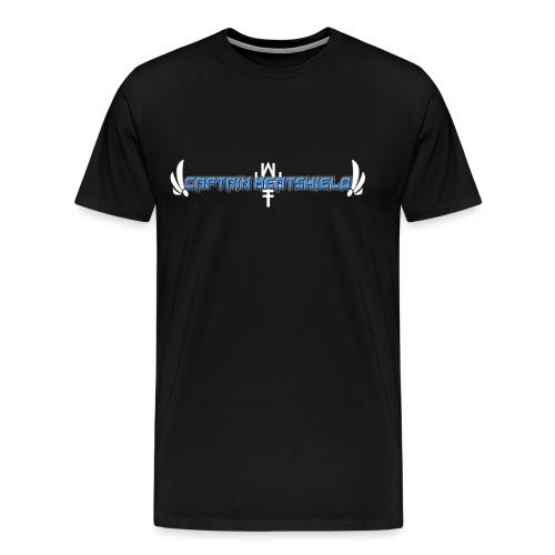 Captain Meatshield Logo - Men's Premium T-Shirt