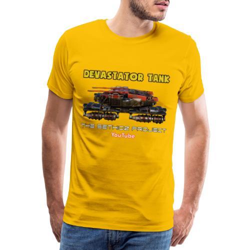Devastator Tank by Sethioz - Men's Premium T-Shirt