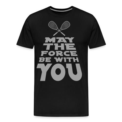 The Squash Force - Männer Premium T-Shirt