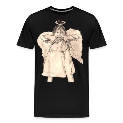 Frecher Engel - Männer Premium T-Shirt