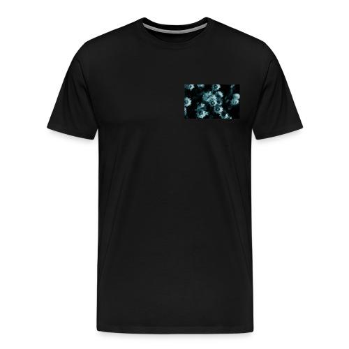 Falling flower - Premium-T-shirt herr