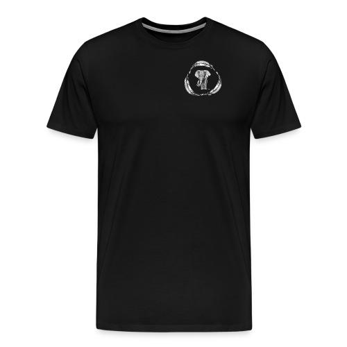 Elephant feather logo - T-shirt Premium Homme