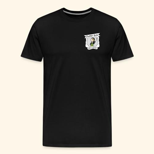 logo Zuster Evie - Mannen Premium T-shirt