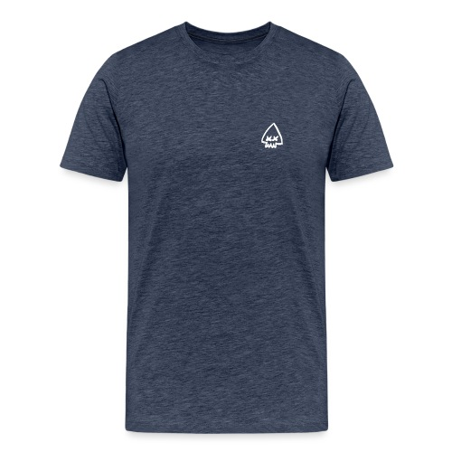 Squid Logo - White - Men's Premium T-Shirt